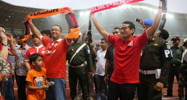 PSSI Sambut Baik Rencana Anies-Sandi Bangun Stadion untuk Jakarta
