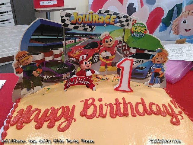 JolliRace Birthday Cake