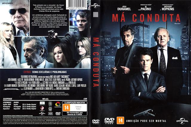 Capa DVD Má Conduta