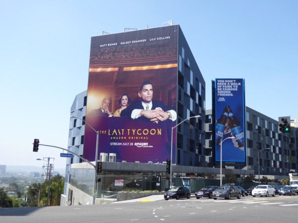 Last Tycoon series launch billboard