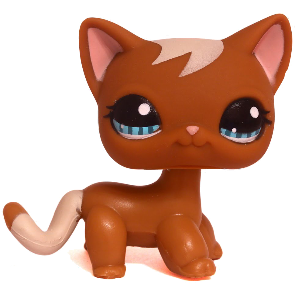 Littlest Pet Shop Carry Case Cat Shorthair 1170 Pet Lps Merch