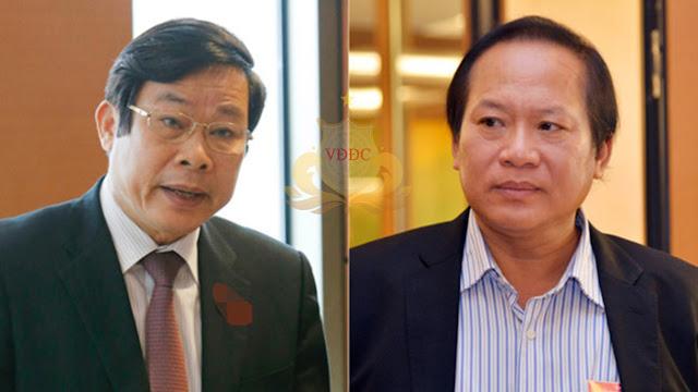 Ông Nguyễn Bắc Son và ông Trương Minh Tuấn