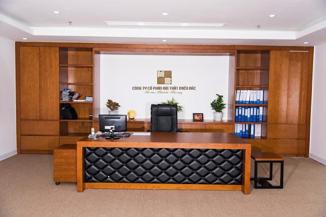 Với chất liệu gỗ cao cấp thì những mẫu bàn giám đốc cao cấp này sẽ đảm bảo sự sang trọng và bề thế