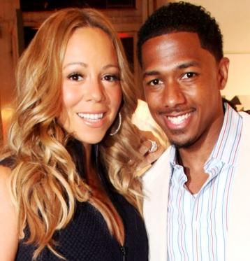 Foto de Mariah Carey y ex esposo