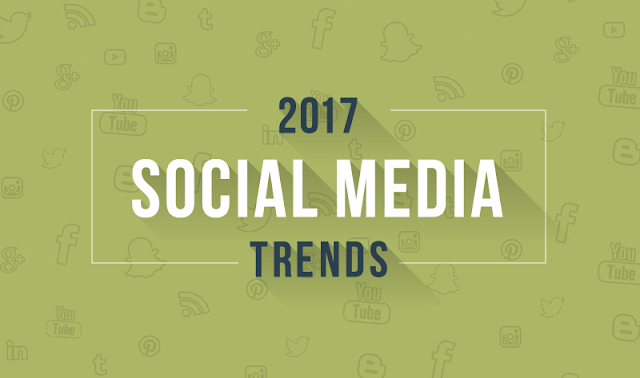 Big 2017 Social Media Marketing Trends You Need to Know - infographic