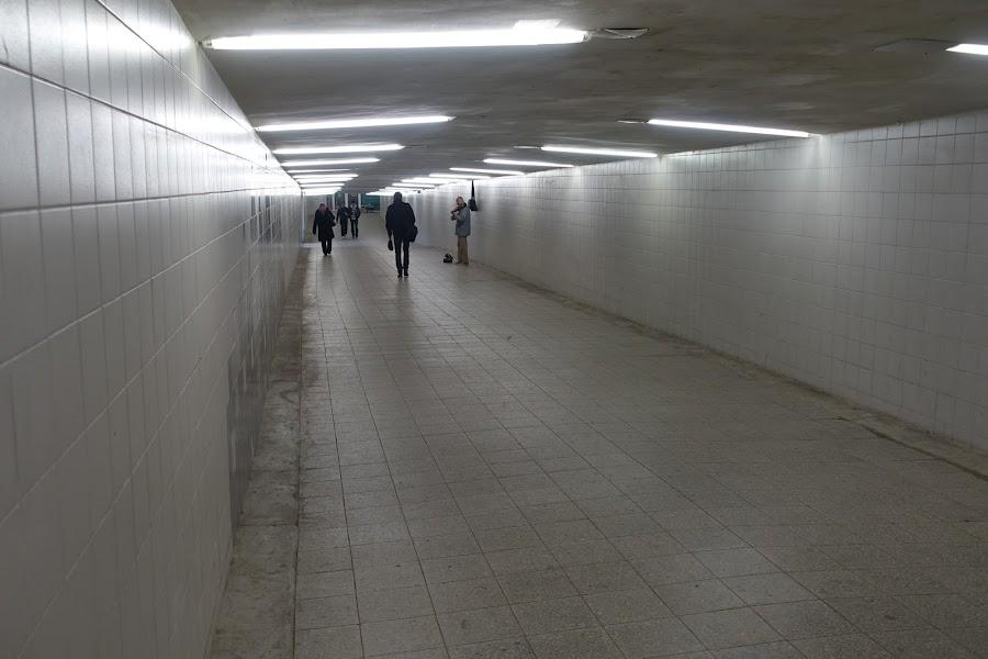 地下通路入口