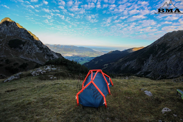 Testbericht Outdoor Blog BMA the Wedge Zelt Heimplanet BMA Best Mountain Artists wandern bayern Erfahrung