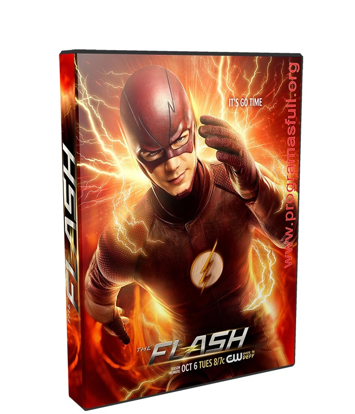 The Flash temporada 4 poster box cover