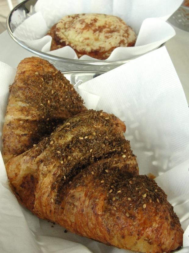 zaatar spice blend on bread