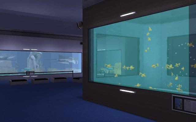 construire aquarium sims 4
