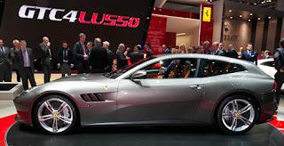 Ferrari GTC4Lusso on Geneva Motor Show 2016