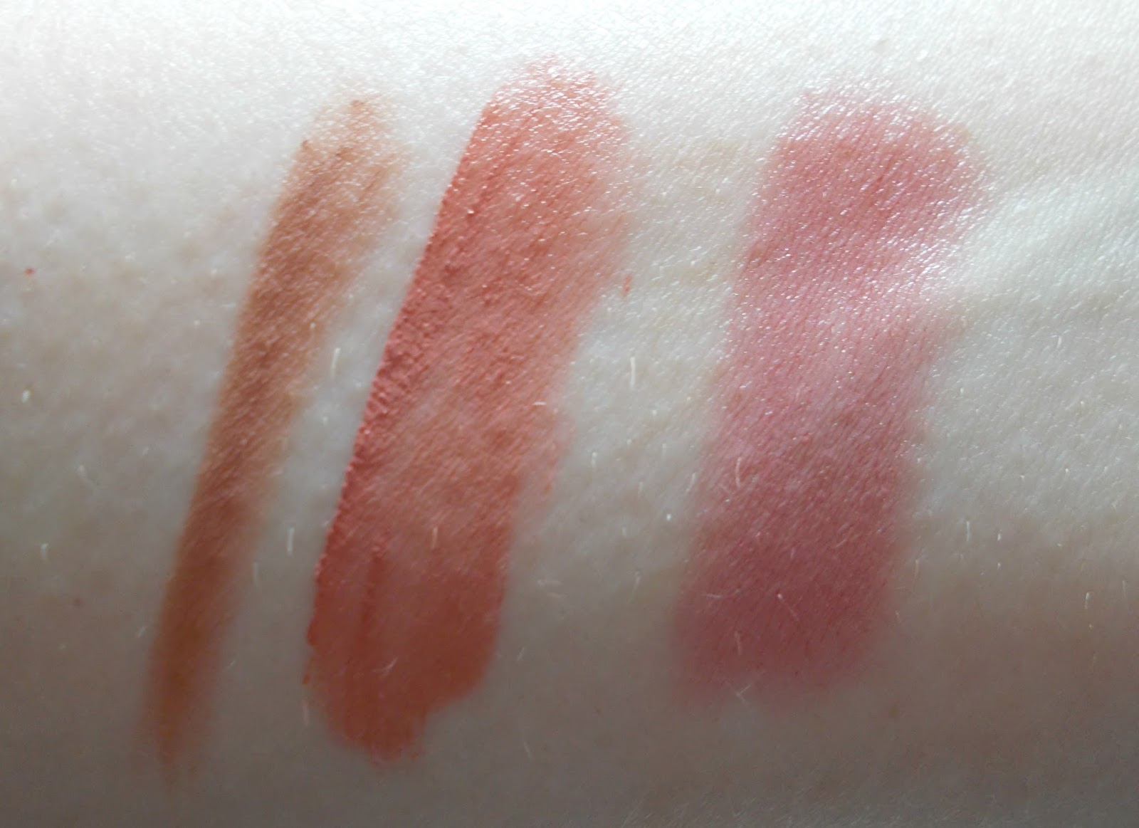 swatches kevyn aucoin flesh tone lip pencil medium nyx soft matte lip stockholm nars satin lip rikugien
