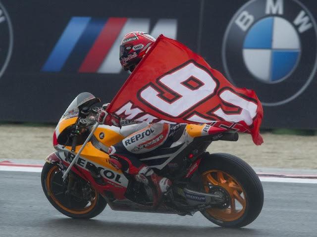 Marquez Bidik Kemenangan Ketiga di MotoGP San Marino