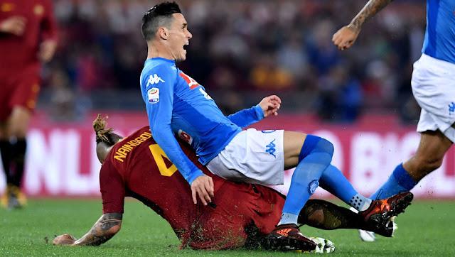 Prediksi Napoli vs AS Roma, 03 Maret 2018