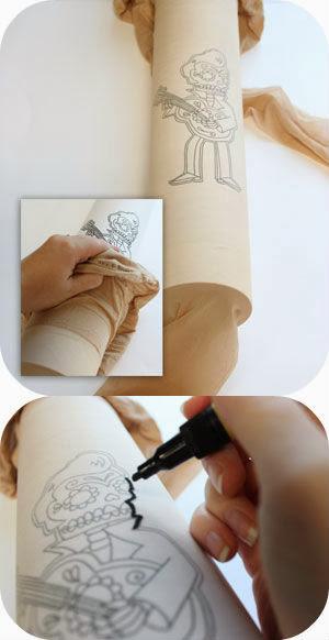 Como hacer Tatuajes de Quita y Pon