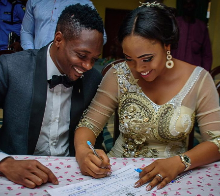 ahmed musa new wife