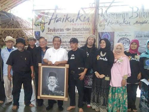 Wakil Wali Kota Resmikan Galeri Haikuku di ECO Bambu Cipaku