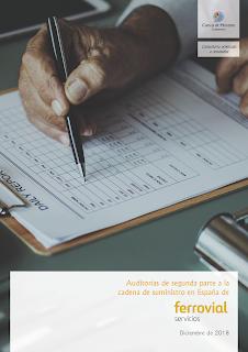 trabajo firmado entre Cuevas y Montoto Consultores y Ferrovial Servicios.