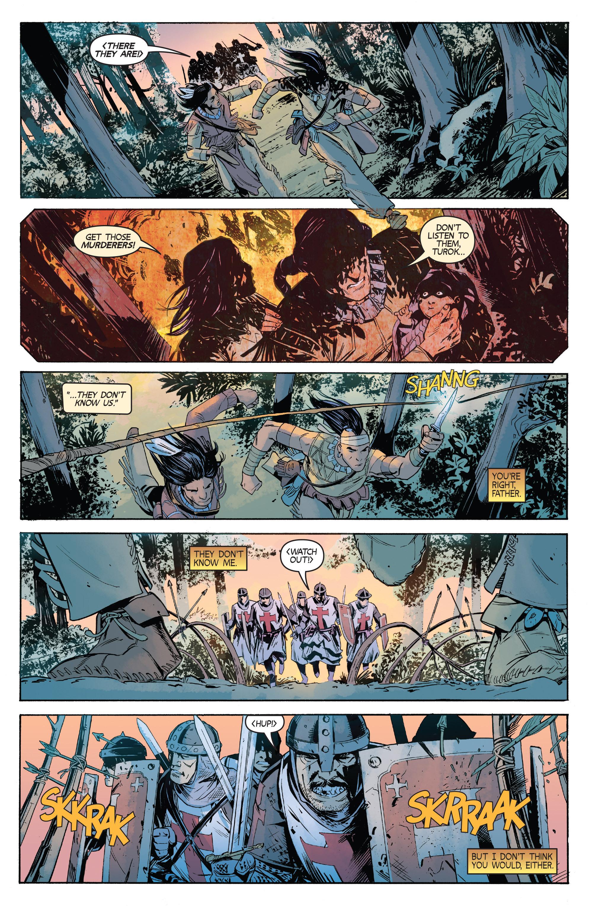 Read online Turok: Dinosaur Hunter (2014) comic -  Issue # _TPB 1 - 43