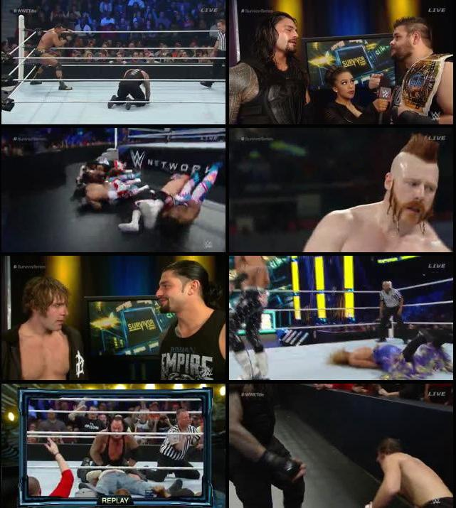 WWE Survivor Series 2015 PPV 480p WEBRip
