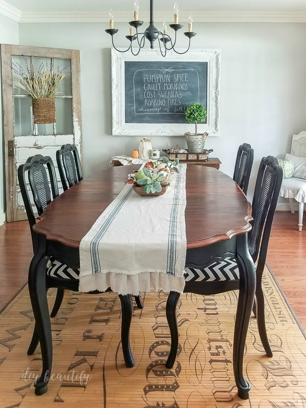 dining room farmhouse style