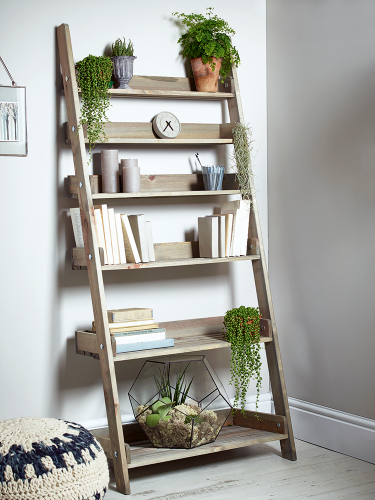 Ladder shelves for Kitchen Storage