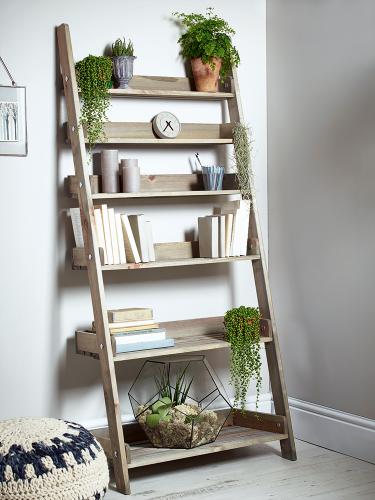 Ladder shelves for Kitchen Storage
