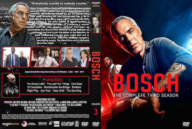 Bosch Season 3 DVD Cover