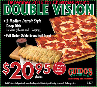 free Guidos Pizza coupons december 2016