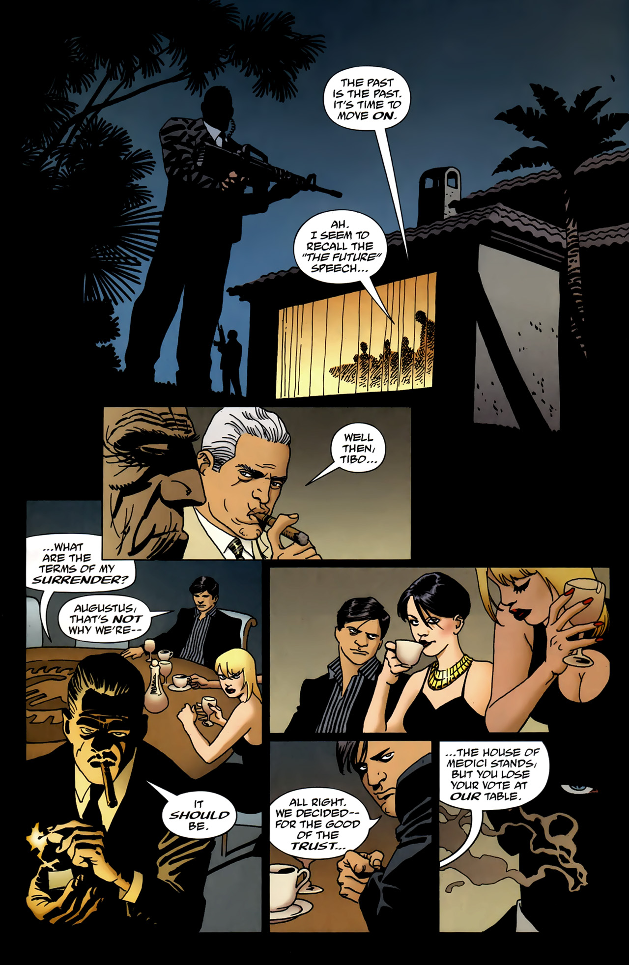 Read online 100 Bullets comic -  Issue #99 - 13