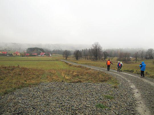 Teren wsi Przyszowa.