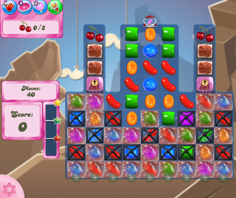 Candy Crush Saga level 2617