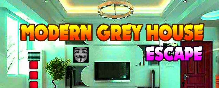 AvmGames Modern Grey House Escape Walkthrough