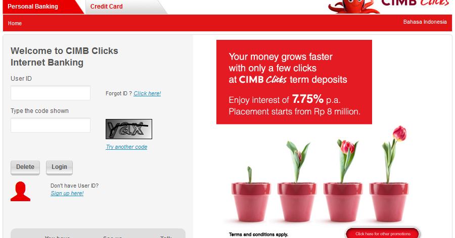 Transfer Uang Lewat Internet Banking Cimb Clicks Mas Tono