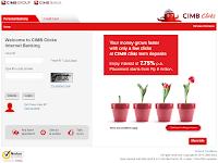 Transfer Uang Lewat Internet Banking CIMB Clicks