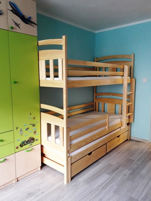 łóżko piętrowe, Lano meble, łóżko dla dwóch chłopców