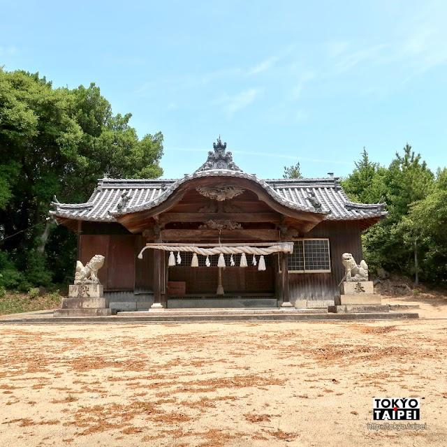 【唐櫃八幡神社】瀨戶內海小島上 意外發現規模完整的大神社