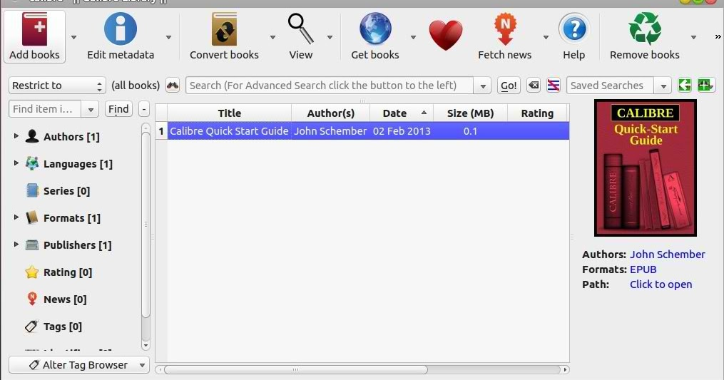 Latest Calibre library for Ubuntu 13 04/12 10/Linux Mint 15