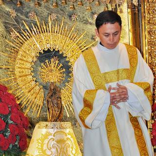 Vigilia de oración y primera misa de D. Fabio Elías