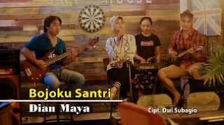 Lirik Lagu Bojoku Santri - Dian Maya