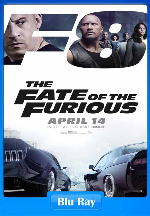 The Fate of the Furious 2017 720p BRRip 800MB x264