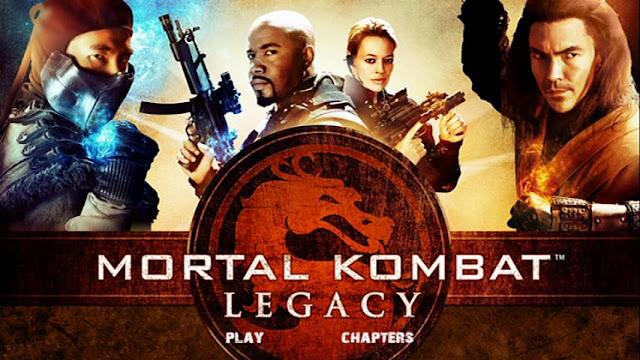 Mortal Kombat Legacy DVDR NTSC Descargar Subtitulos Español Latino ISO 2011