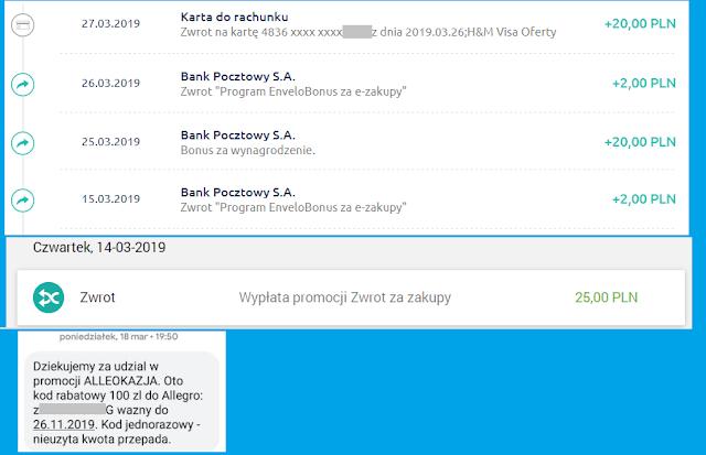 Moje zarabianie na bankach - podsumowanie lutego 2019 roku