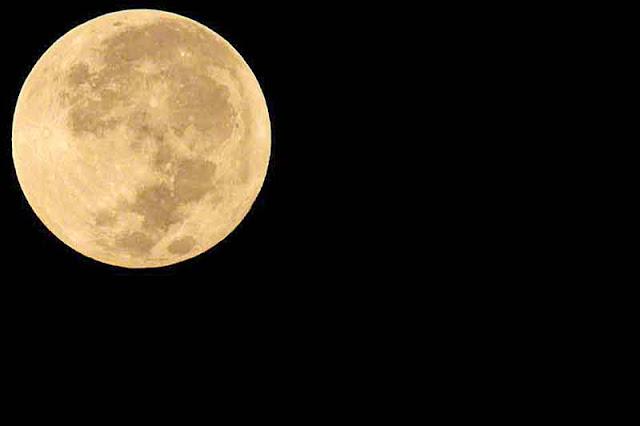 astronomy, moon, ocean, Okinawa