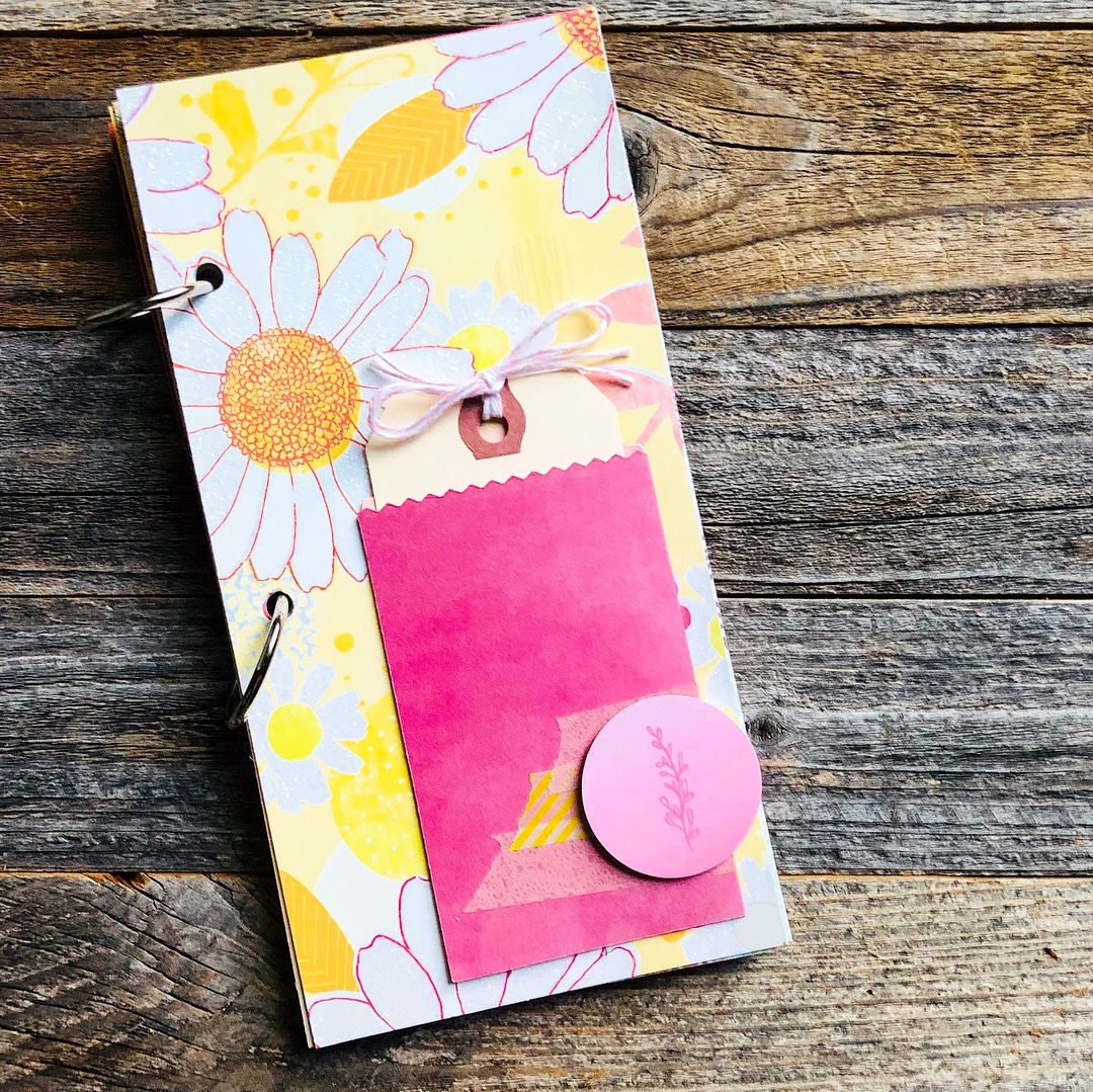 #memory keeping #mini book #mini journal #4x8 #scrapbooking