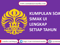 Download Soal SIMAK UI [2009-2018]