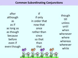 Google Image - 16 contoh kalimat subordinate conjunction + pembahasan singkat