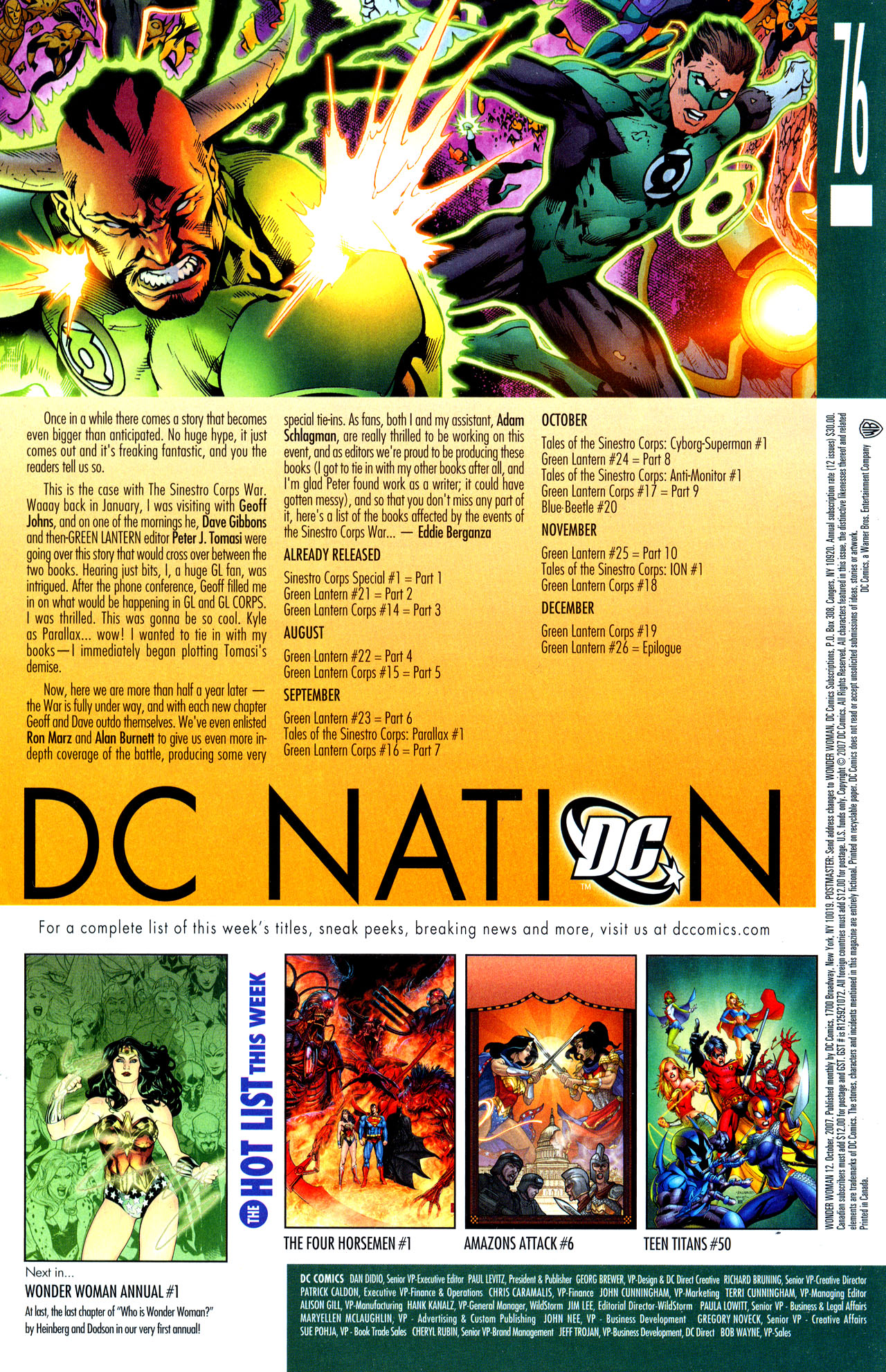 Read online Wonder Woman (2006) comic -  Issue #12 - 24