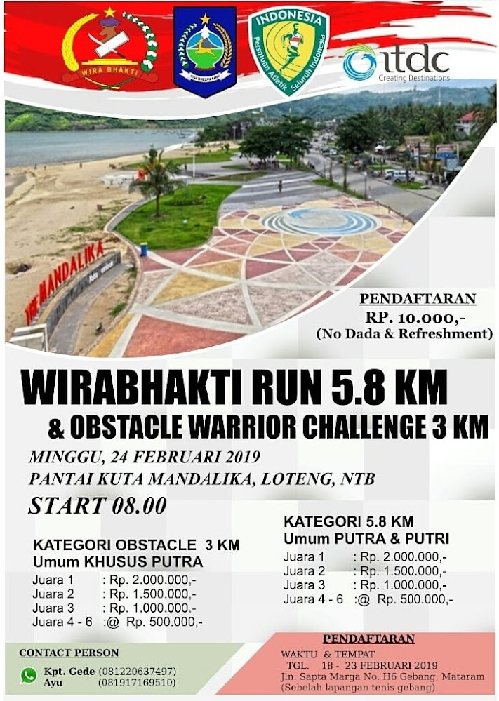 Wirabhakti Run & Obstacle Warrior Challenge • 2019