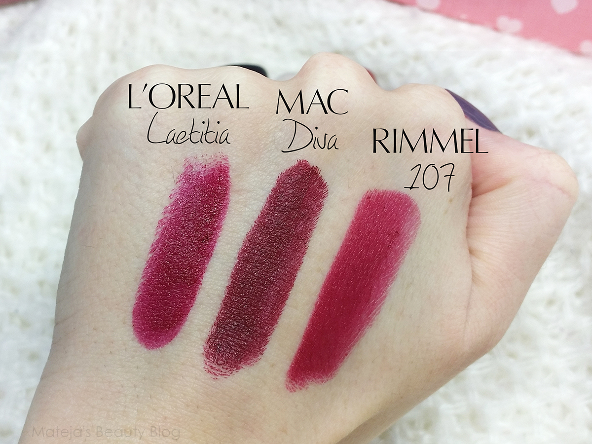 Favoritos MAC Lipstick Samples from The Body Needs #3 - Mateja's Beauty Blog EU58